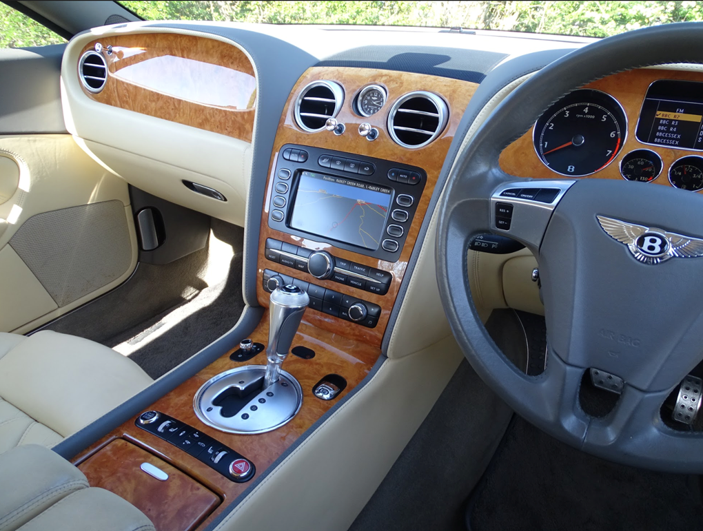 2008 Bentley  CONTINENTAL GT  GT SPEED 6.0 COUPE AUTO  28,948 For Sale (picture 6 of 23)