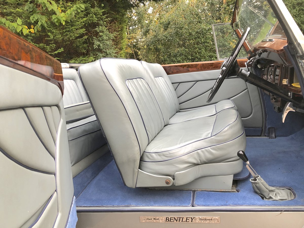 1949 BENTLEY MKVI Park Ward Convertible    Indian Royal History For Sale (picture 5 of 6)