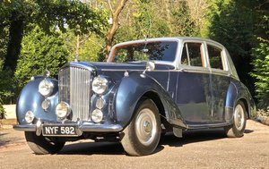 1953 BENTLEY R TYPE  SPORTS SALOON manual For Sale