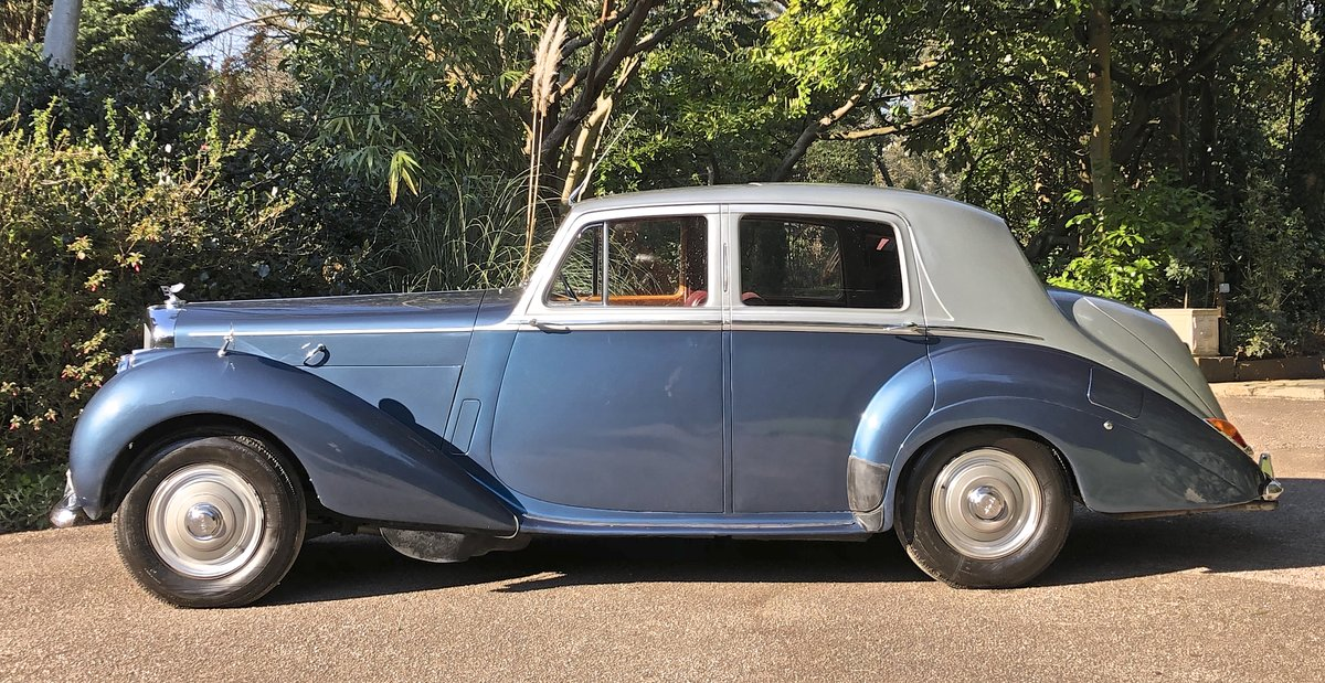 1953 BENTLEY R TYPE  SPORTS SALOON manual For Sale (picture 2 of 6)