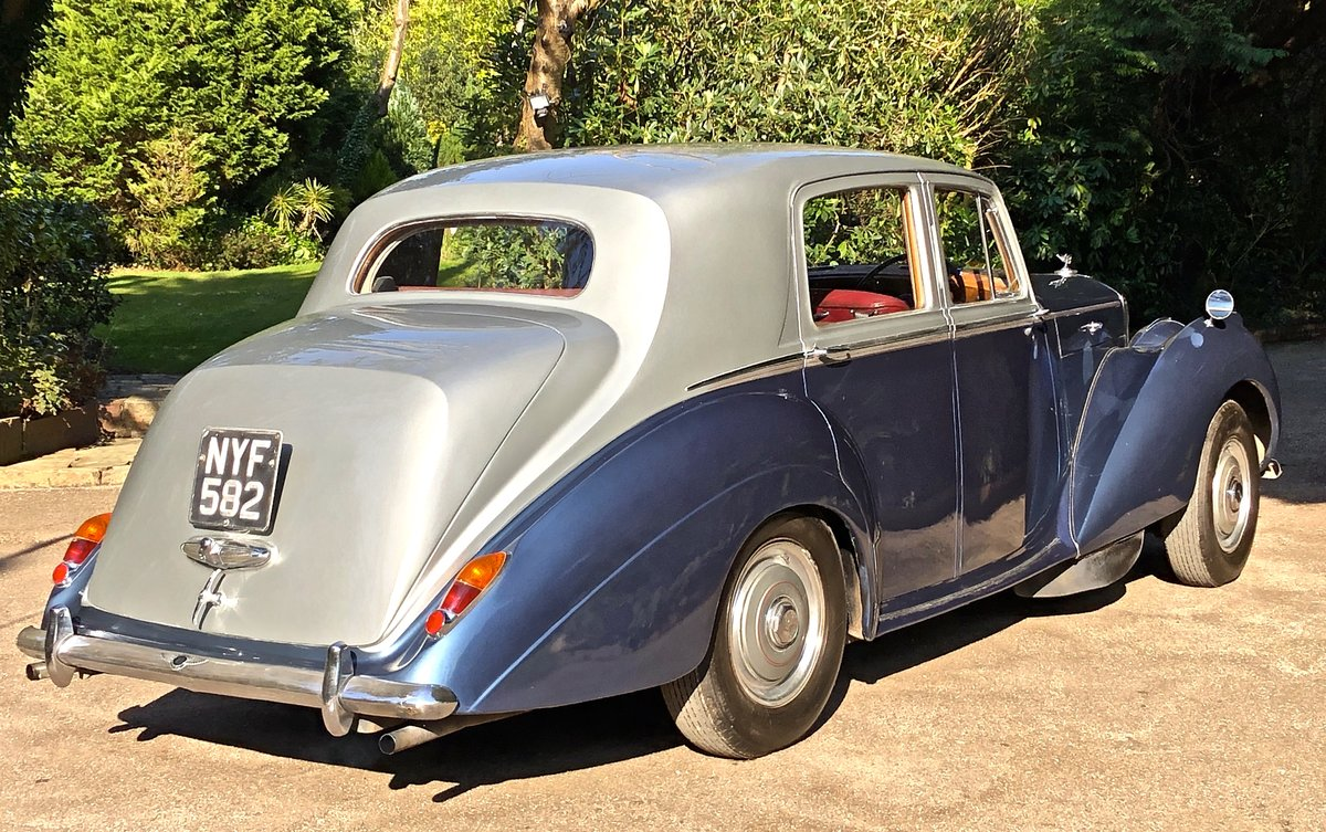 1953 BENTLEY R TYPE  SPORTS SALOON manual For Sale (picture 3 of 6)