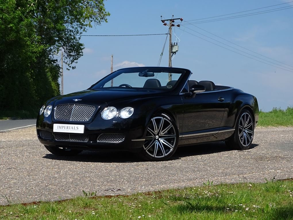 2008 Bentley  CONTINENTAL  GTC MULLINER CAB  POA For Sale (picture 1 of 23)