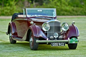 Picture of 1938 Derby Bentley 4.25 MR Overdrive series Hooper DHC For Sale