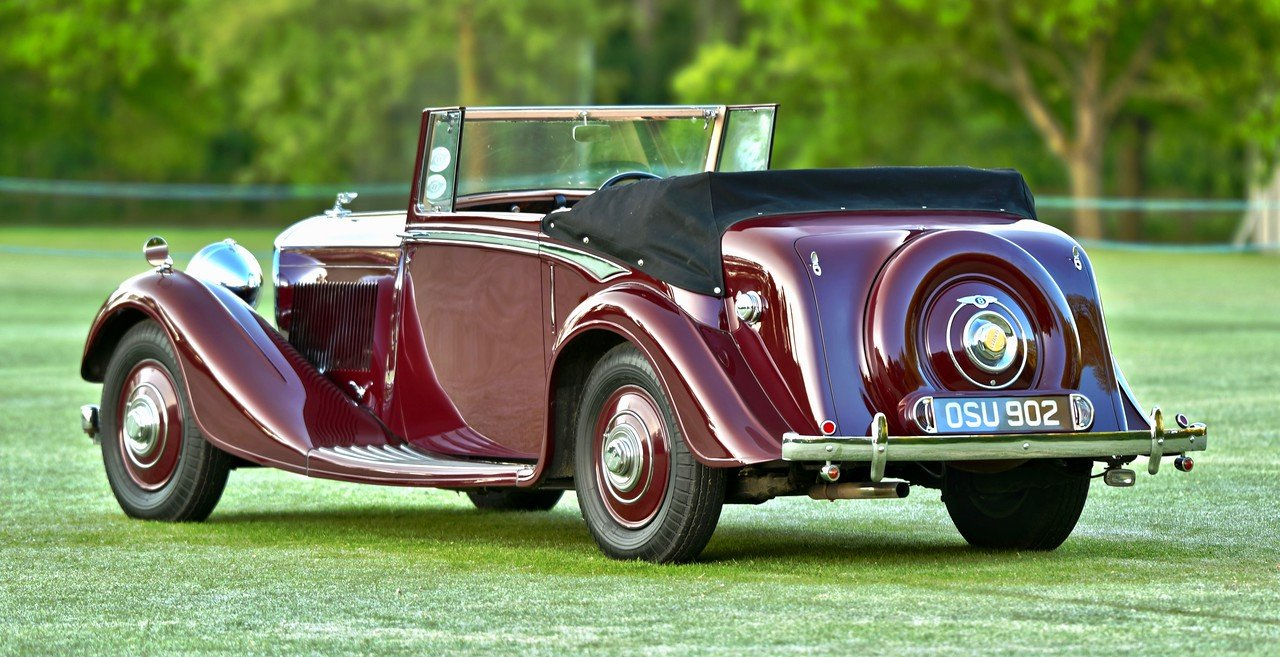 1938 Derby Bentley 4.25 MR Overdrive series Hooper DHC For Sale (picture 3 of 6)