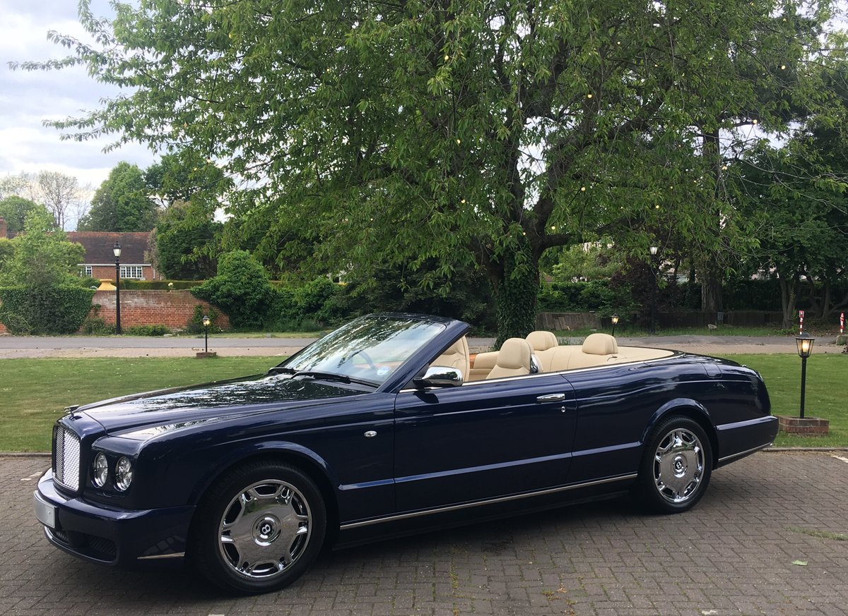 Sold !Bentley Azure Convertible 2006 done 10.200 miles  SOLD (picture 1 of 6)
