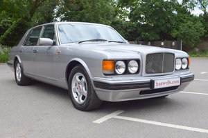 1997 P Bentley Brooklands Turbo in Silver Pearl