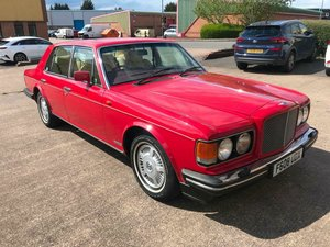 1989 F BENTLEY EIGHT - LOW MILEAGE - LOW OWNERS - RARE CAR