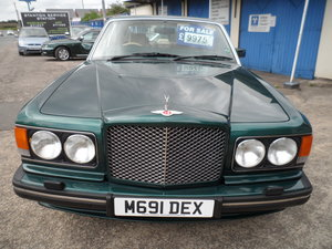 1994 SOUND OLD BENTLEY TURBO R RED LABEL IN METALLIC GREEN 88K For Sale