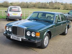 1990 Bentley Mulsanne S SOLD
