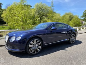 2012 Bentley Continental GT Mulliner SOLD
