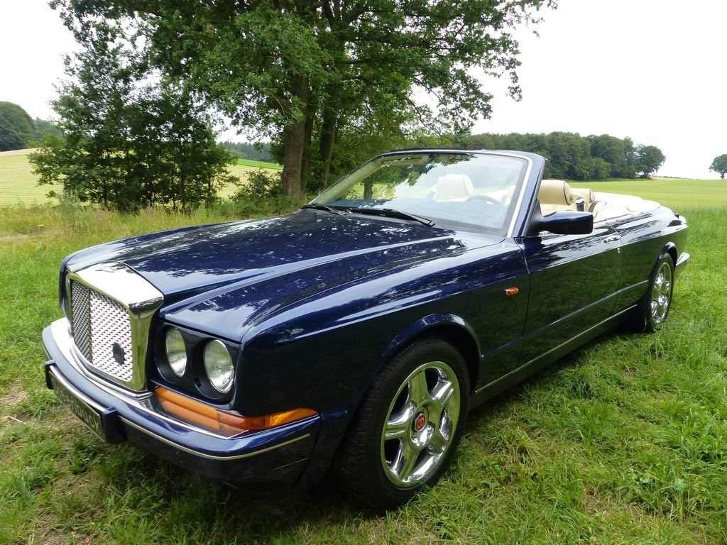 1996 Bentley Azure - young classic convertible in mint condition For Sale (picture 1 of 6)