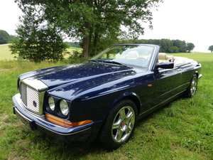 Bentley Azure - young classic convertible in mint condition