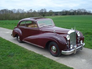 Bentley MK VI - Rare Fixed Head Coupé by James Young