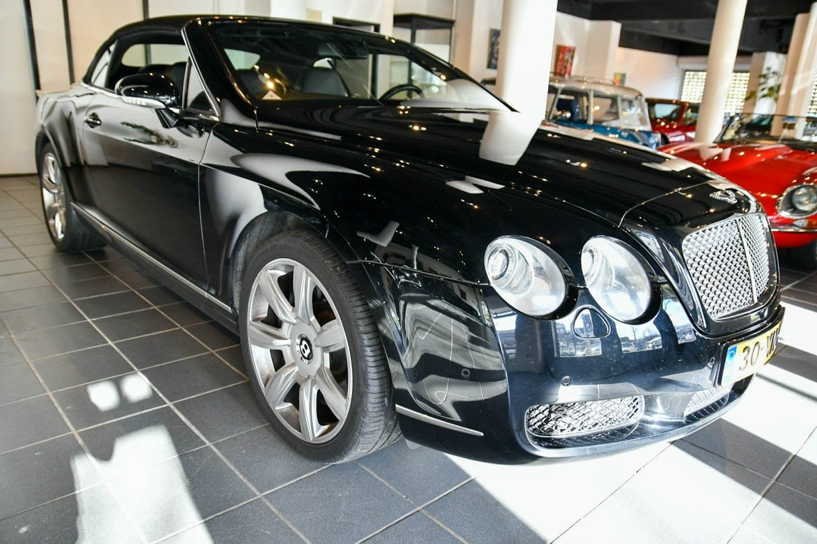 Bentley Continental GT 6.0 W12 GTC Convertible 2007 For Sale by Auction (picture 4 of 6)