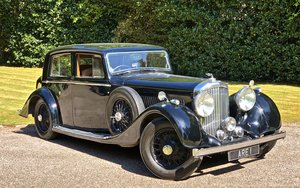 1937 BENTLEY DERBY 4 1/4 Litre MANN EGERTON SPORTS SALOON