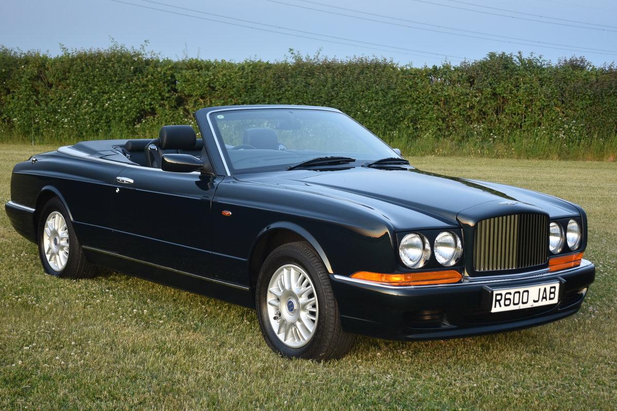Bentley Azure 16,000 miles Black Emerald 1997 For Sale (picture 1 of 6)