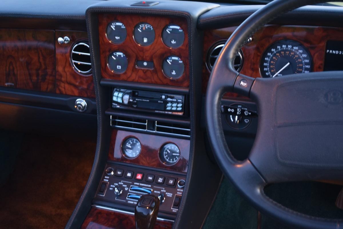 Bentley Azure 16,000 miles Black Emerald 1997 For Sale (picture 3 of 6)