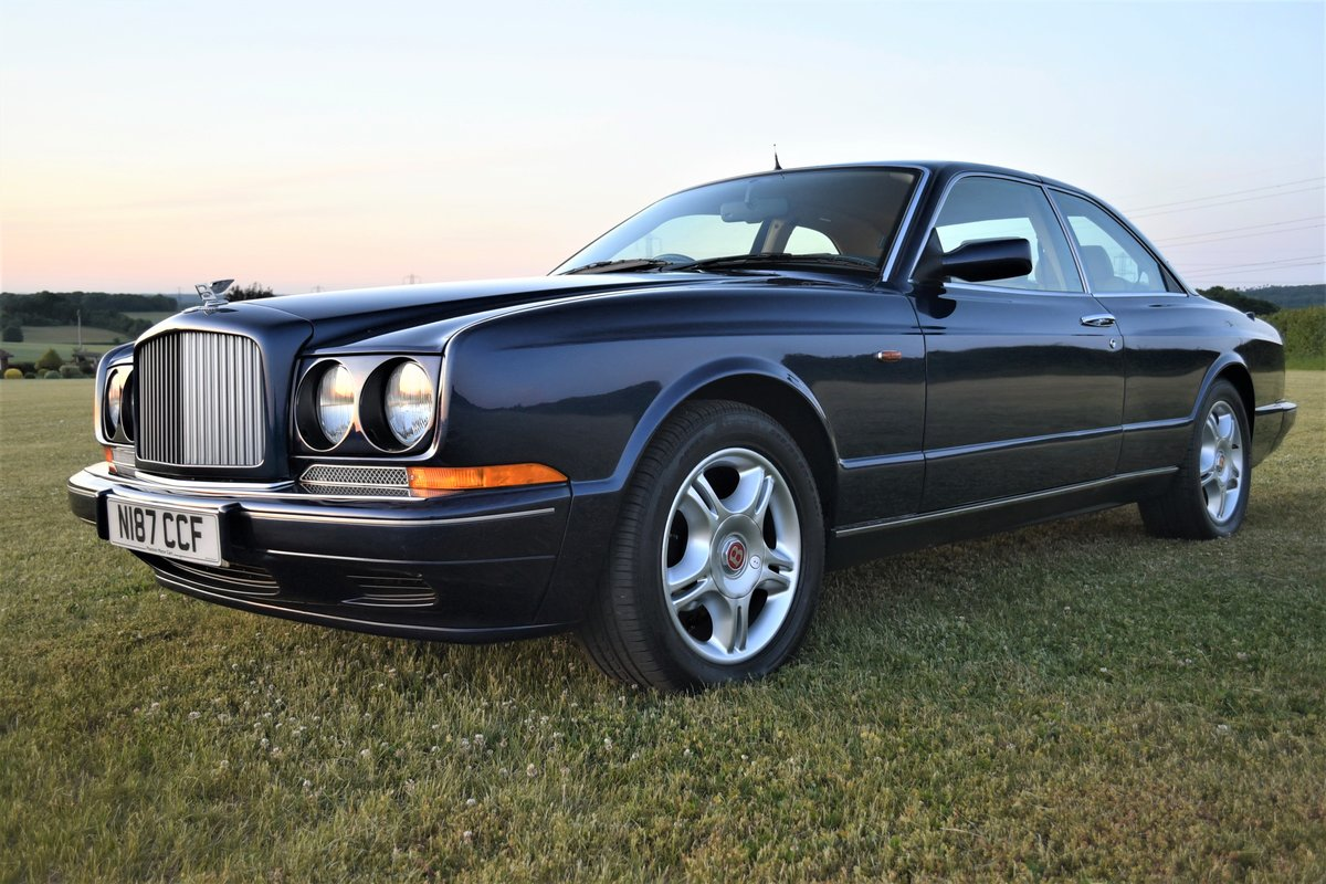 1996 Bentley Continental R  by Mulliner Park Ward. 46,000 mi SOLD (picture 2 of 6)