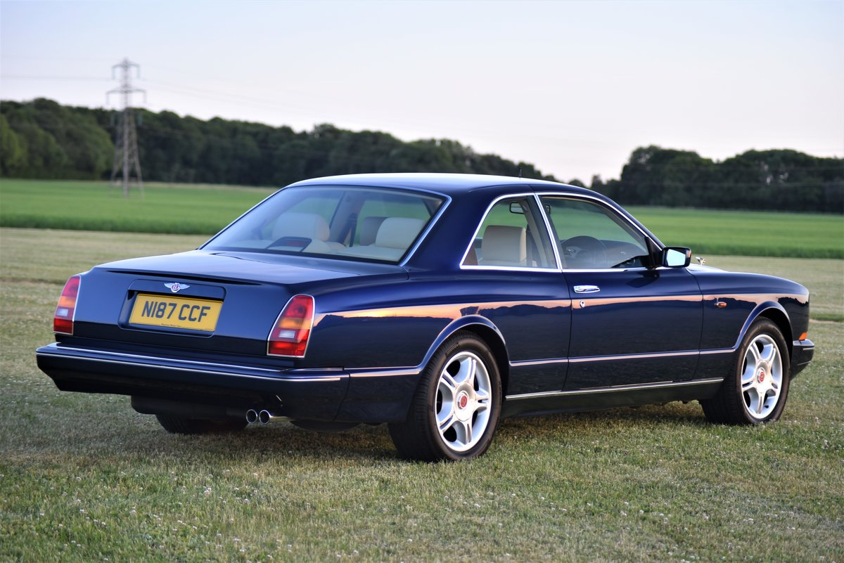 1996 Bentley Continental R  by Mulliner Park Ward. 46,000 mi SOLD (picture 3 of 6)