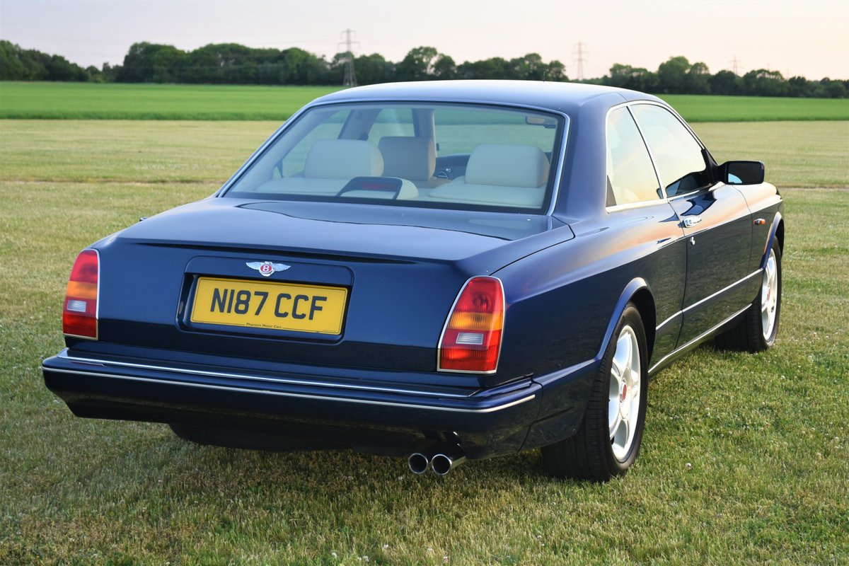 1996 Bentley Continental R  by Mulliner Park Ward. 46,000 mi SOLD (picture 4 of 6)