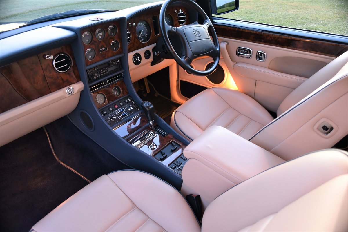 1996 Bentley Continental R  by Mulliner Park Ward. 46,000 mi SOLD (picture 6 of 6)