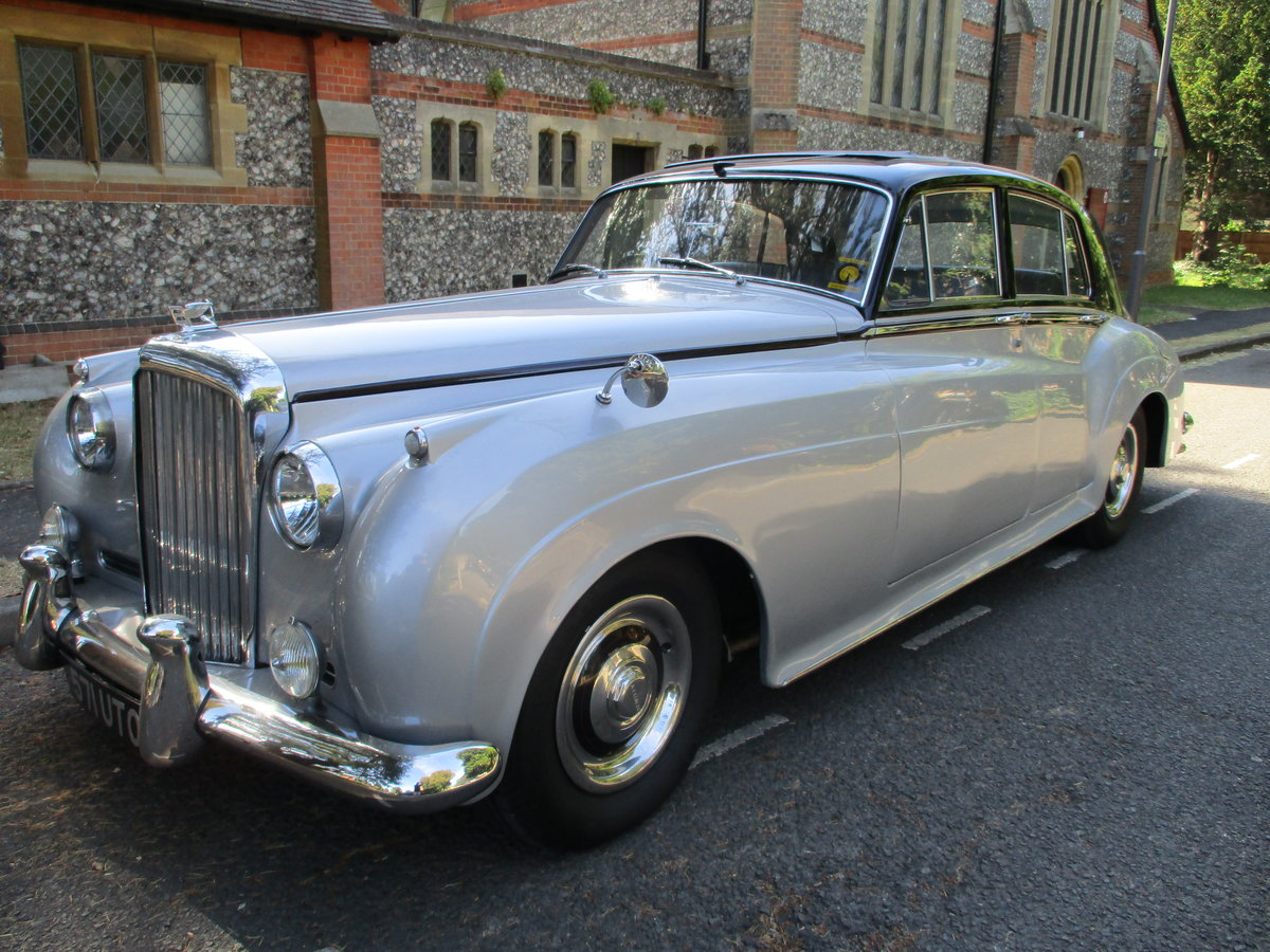 Bentley S2 Saloon 1960 STUNNING FAMILY OWNED SINCE 1982 For Sale (picture 3 of 24)