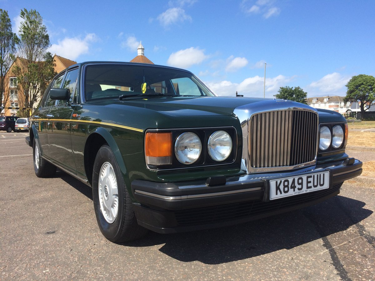 1992 Bentley Mulsanne S  1 owner For Sale (picture 1 of 6)