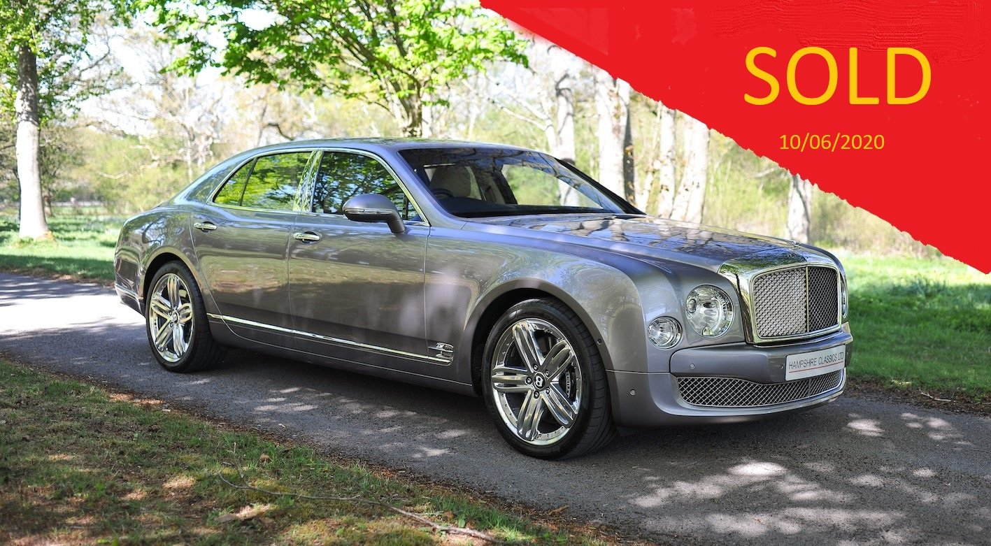 2011 Bentley Mulsanne SOLD (picture 1 of 6)