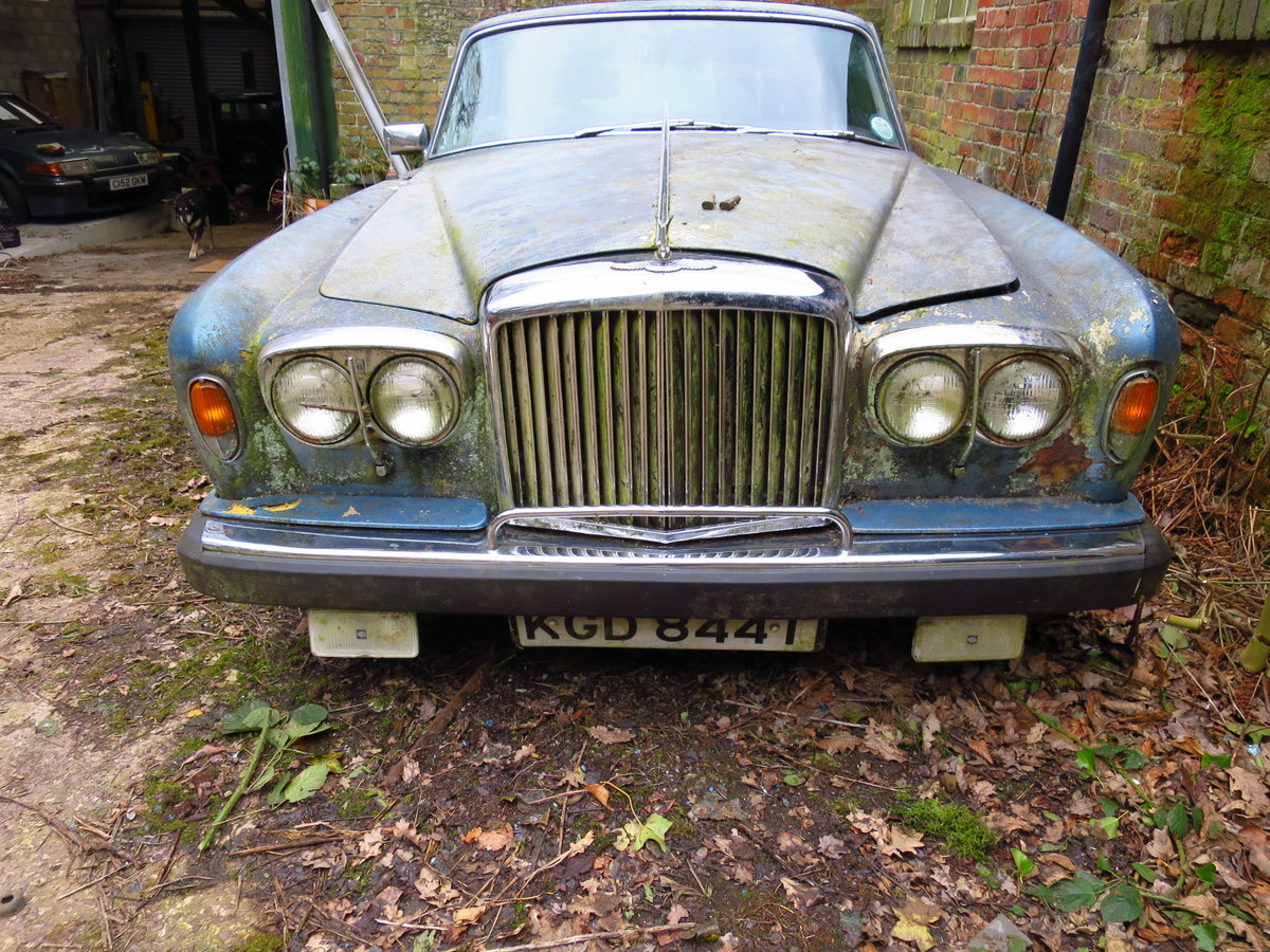 1979 Bentley T2 saloon complete For Sale (picture 2 of 6)