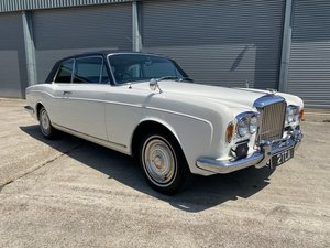 1967  Bentley T1 2 Door Coupe By Mulliner Park Ward