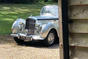 1954 Bentley R type Sports Saloon £22,750