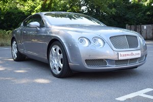 2007/07 Bentley Continental GT Mulliner in Silver Tempest