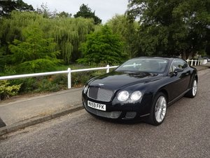 2009 Bentley Continental GT Speed SOLD