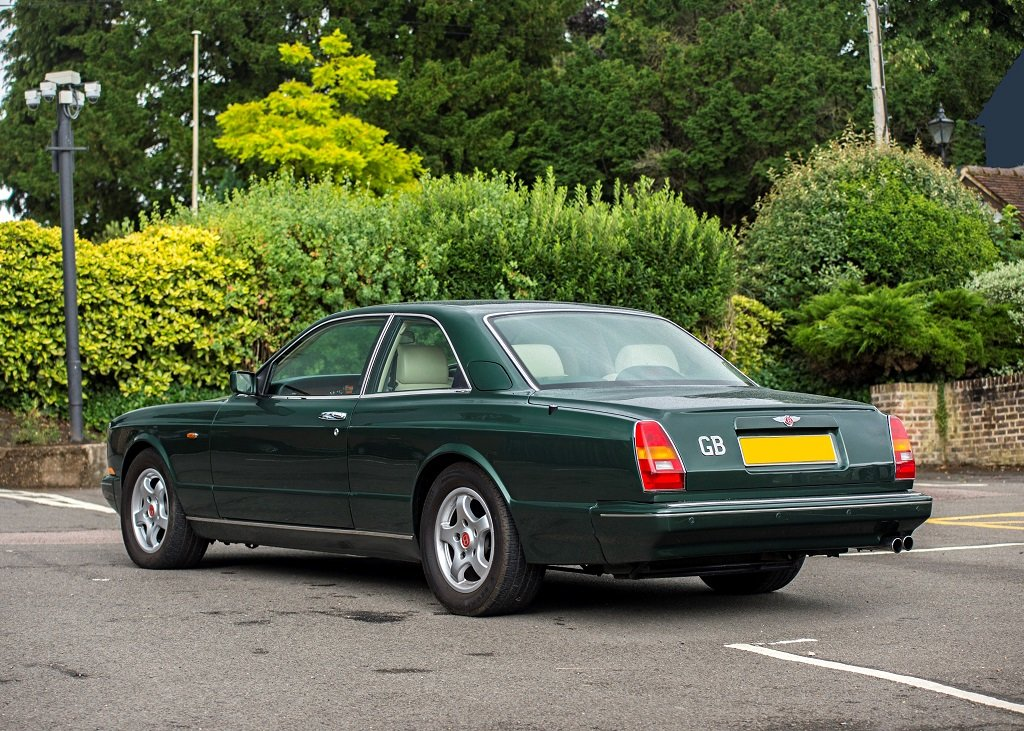 1992 Bentley Continental R SOLD by Auction (picture 1 of 6)
