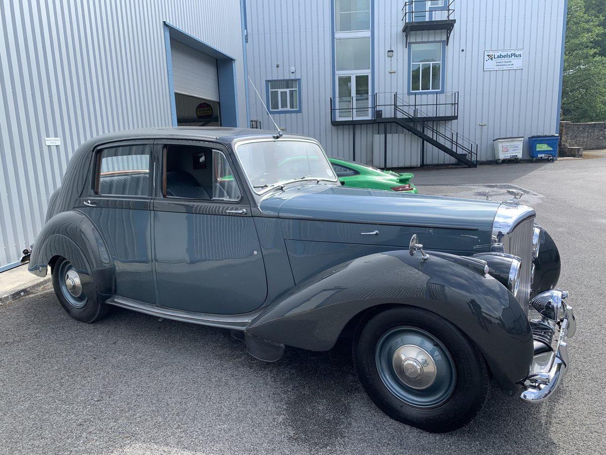 1948 BENTLEY MK6 Saloon For Sale (picture 2 of 6)