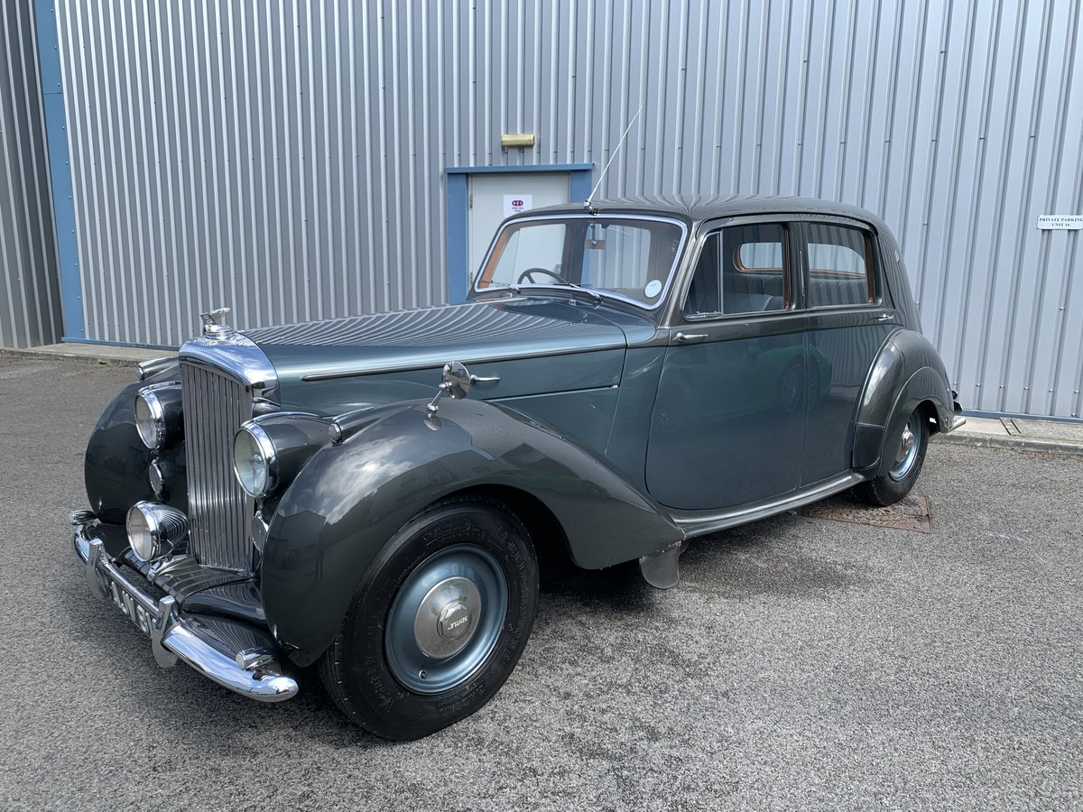 1948 BENTLEY MK6 Saloon For Sale (picture 3 of 6)