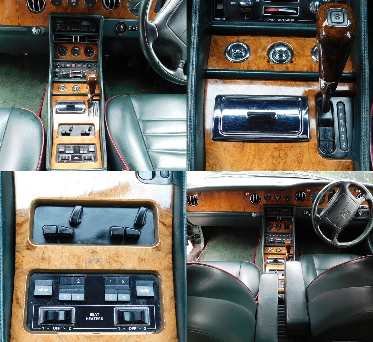 1995 Bentley Turbo R British racing green 12 mnths MOT For Sale (picture 5 of 6)