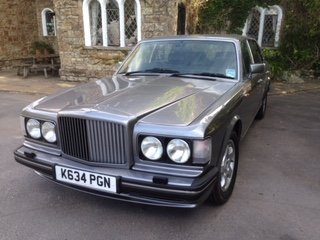 1993 Bentley Turbo R LWB for auction 16th - 17th July For Sale by Auction (picture 1 of 6)