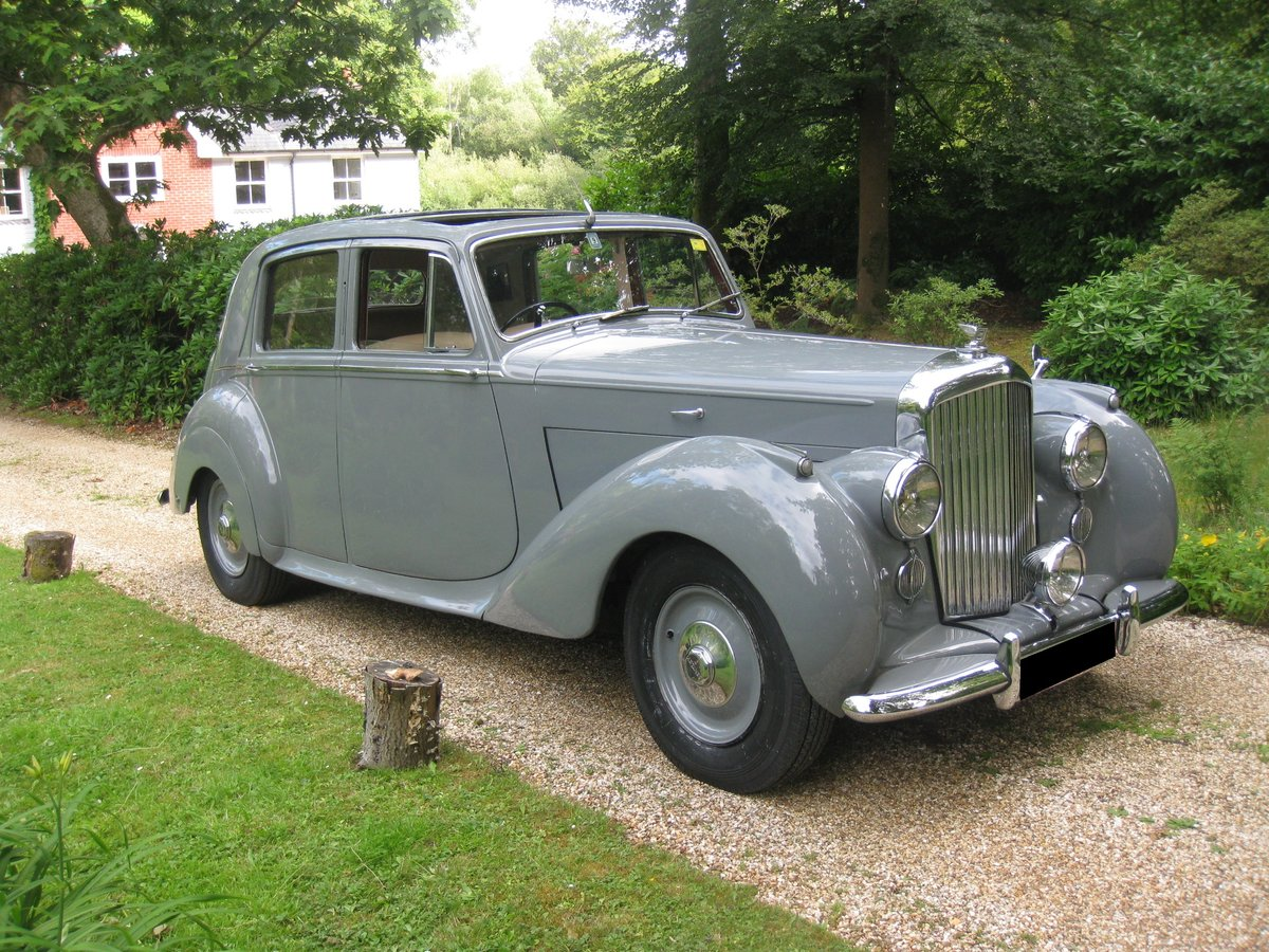 1949 Bentley MKVI Manual For Sale (picture 2 of 6)