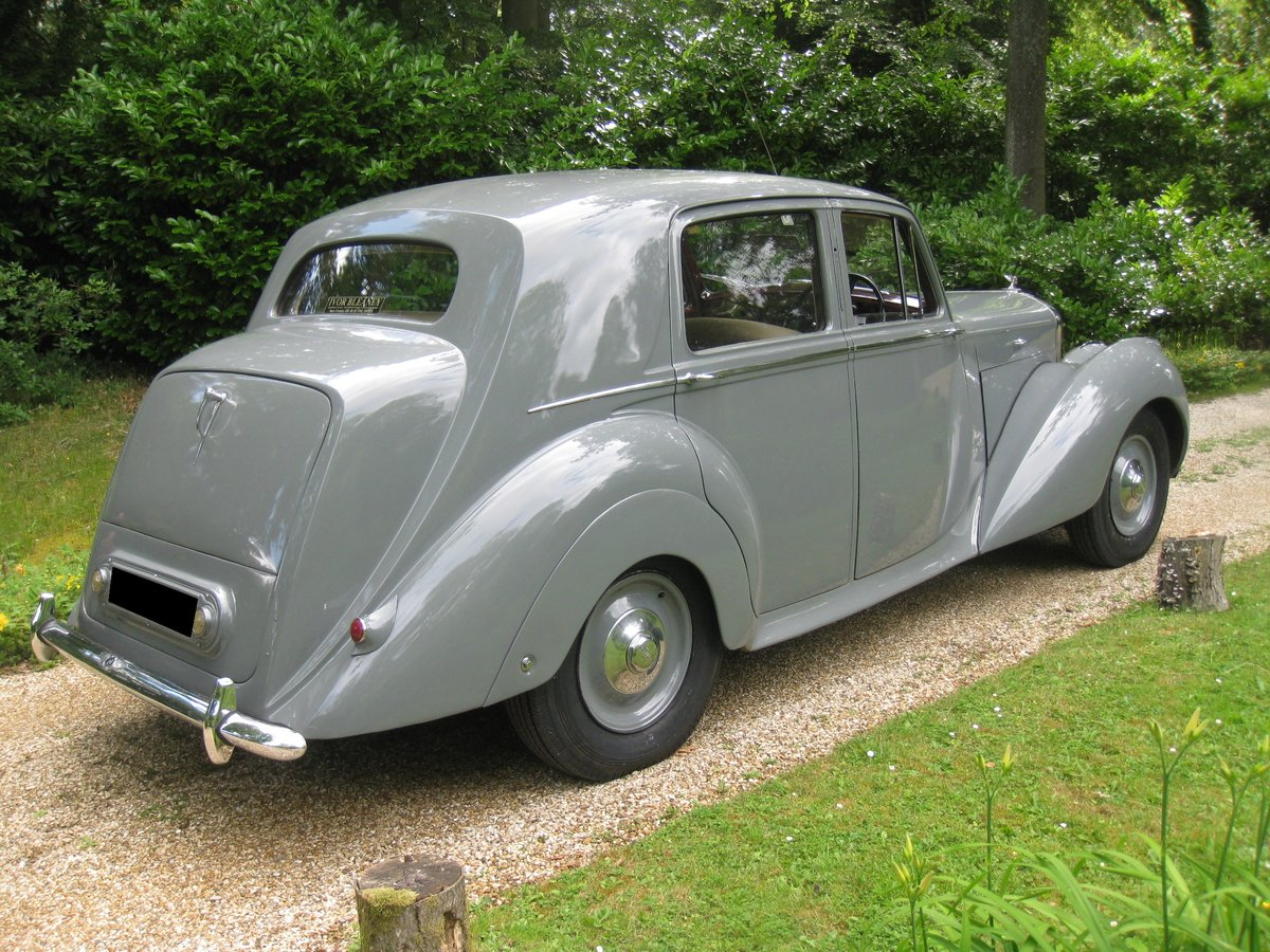 1949 Bentley MKVI Manual For Sale (picture 3 of 6)