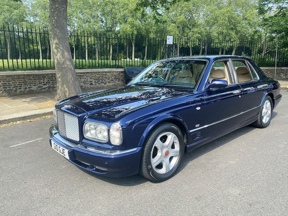 2001 Bentley Arnage Le Mans Edition 32,500 miles only For Sale (picture 1 of 6)