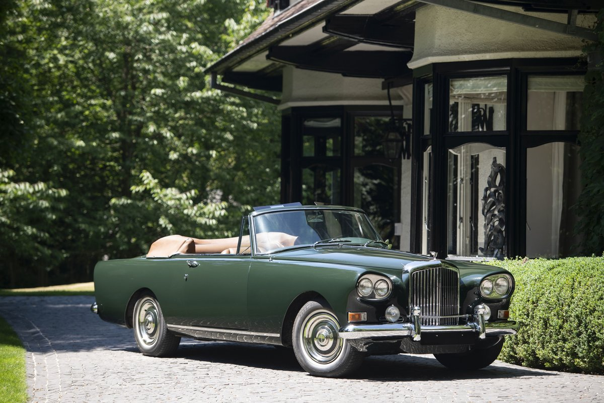 1962 Bentley S3 Continental cabriolet Park Ward For Sale by Auction (picture 1 of 6)