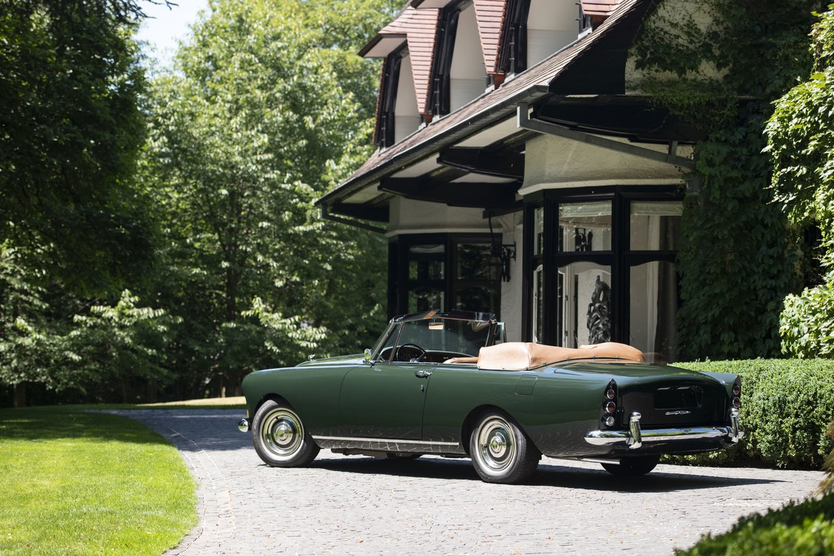 1962 Bentley S3 Continental cabriolet Park Ward For Sale by Auction (picture 3 of 6)