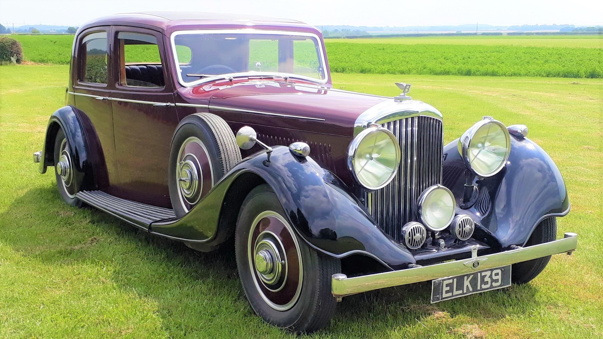 Bentley 4 ¼ Derby Thrupp & Maberly 1937 Rewire Trim History For Sale (picture 1 of 6)