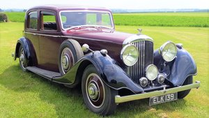 Bentley 4 ¼ Derby Thrupp & Maberly 1937 Rewire Trim History