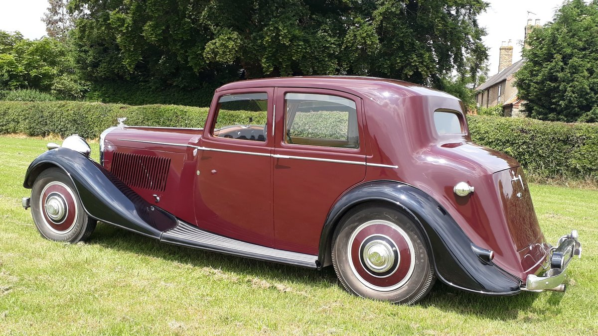 Bentley 4 ¼ Derby Thrupp & Maberly 1937 Rewire Trim History For Sale (picture 2 of 6)
