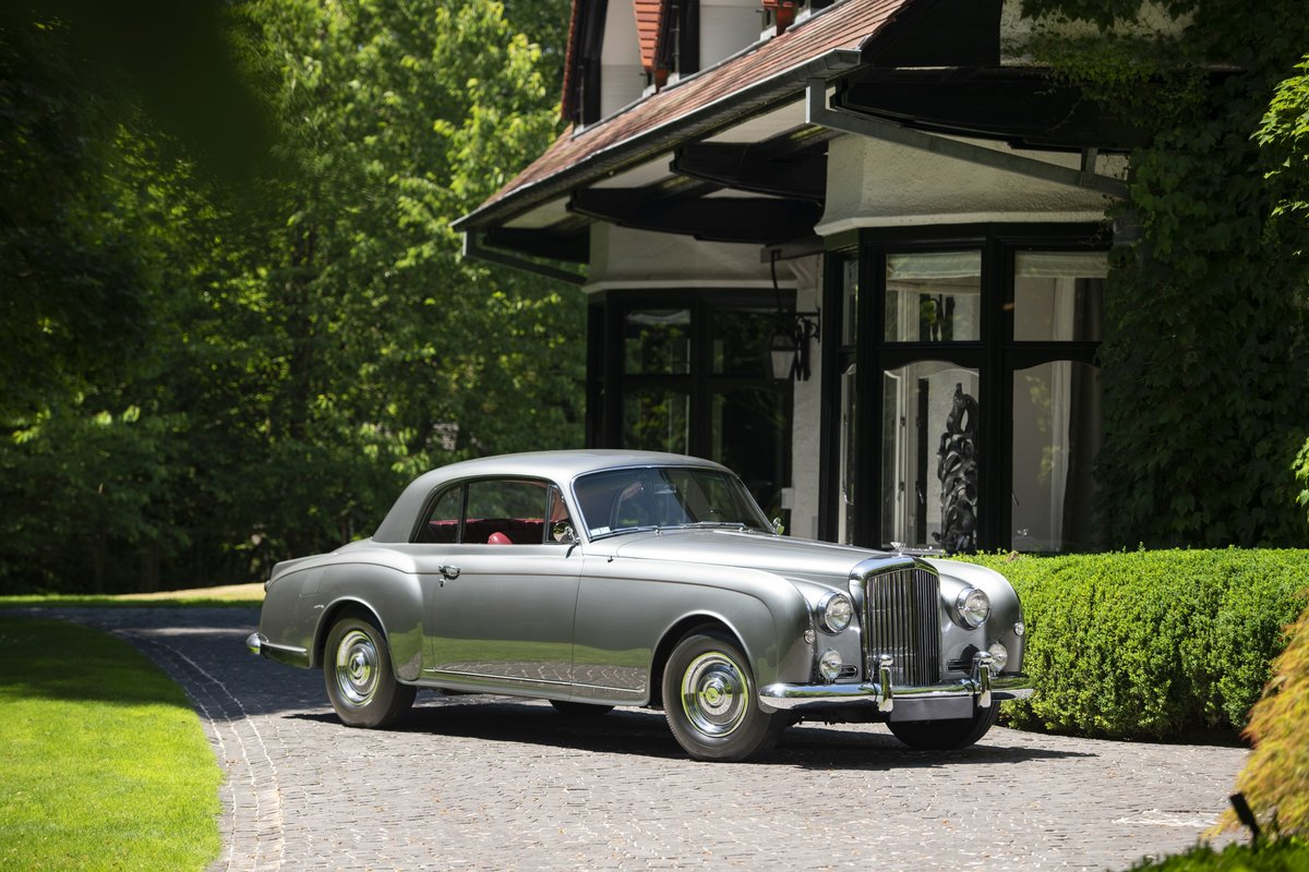 1956 Bentley S1 Continental coupé Park Ward For Sale by Auction (picture 1 of 1)
