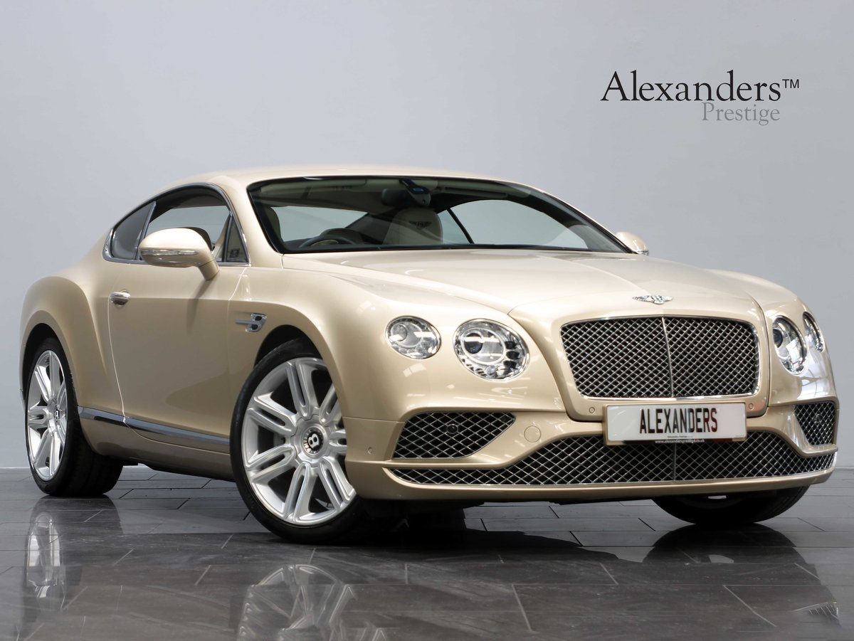 2015 15 15 BENTLEY CONTINENTAL GT 6.0 W12 AUTO For Sale (picture 1 of 6)