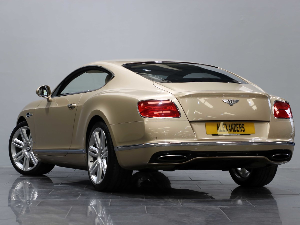2015 15 15 BENTLEY CONTINENTAL GT 6.0 W12 AUTO For Sale (picture 3 of 6)
