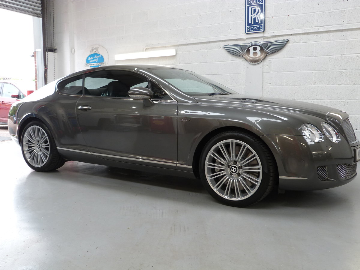 2008 Bentley GT Speed 6.0L W12  15k Mechanical Overhaul Done For Sale (picture 1 of 6)